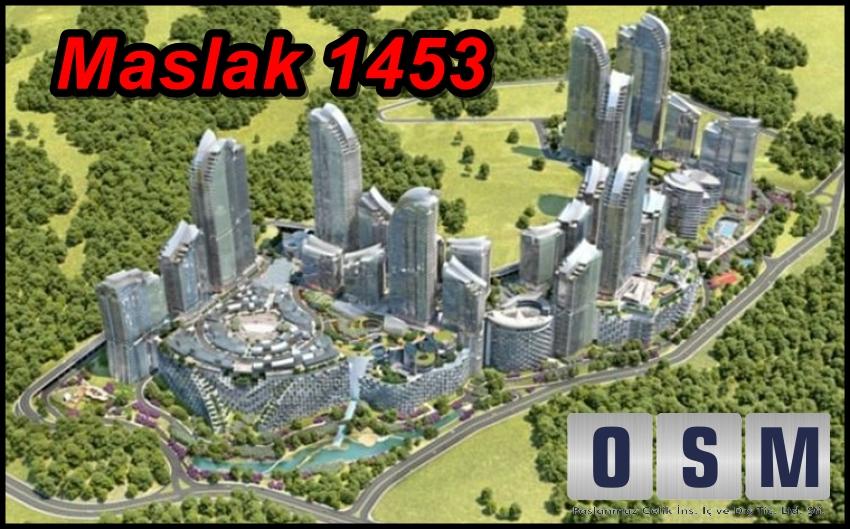 Maslak 1453 Projesi Devam Ediyor.