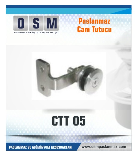 PASLANMAZ CAM TUTUCU CTT 05