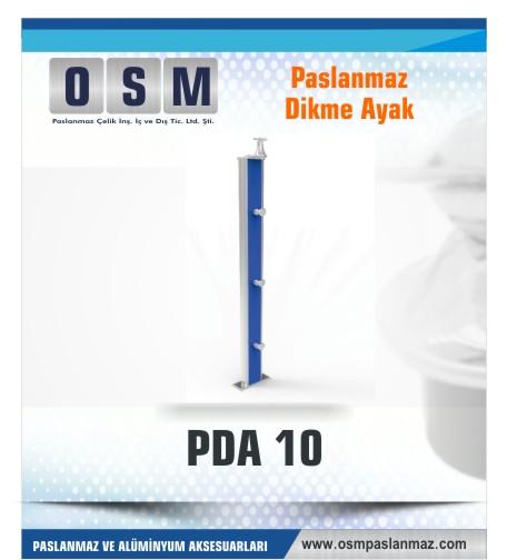 PASLANMAZ DİKME AYAK PDA 010