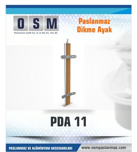 PASLANMAZ DİKME AYAK PDA 011