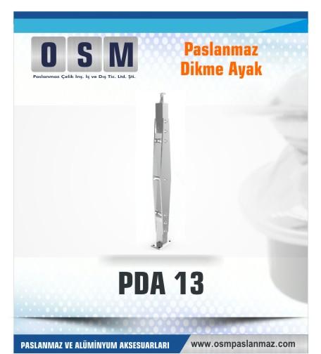 PASLANMAZ DİKME AYAK PDA 013