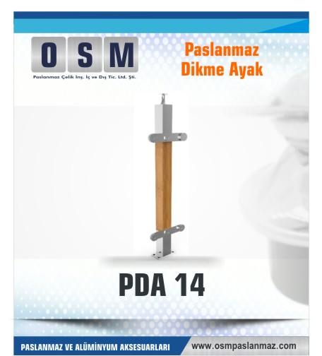 PASLANMAZ DİKME AYAK PDA 014