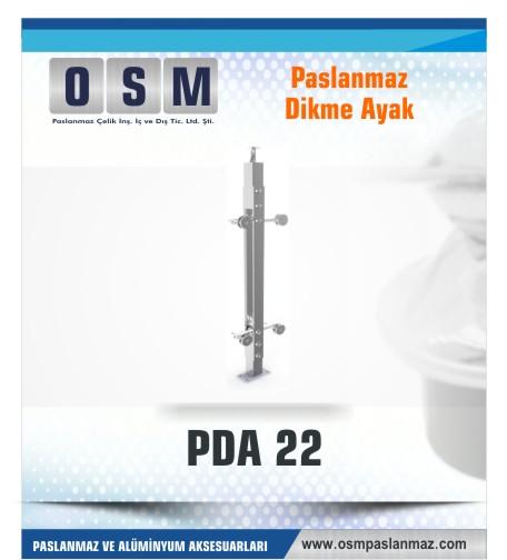 PASLANMAZ DİKME AYAK PDA 022