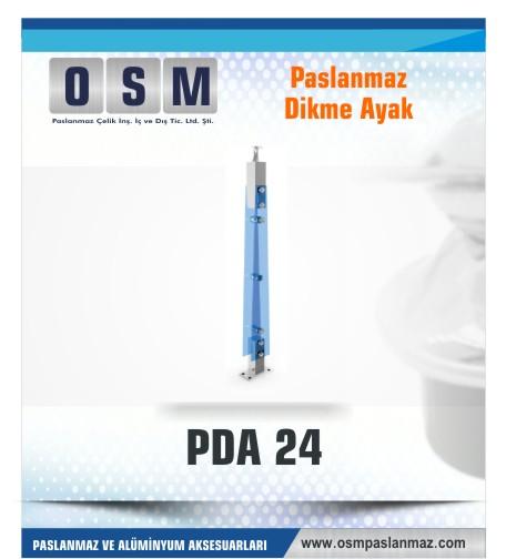 PASLANMAZ DİKME AYAK PDA 024