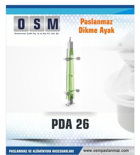 PASLANMAZ DİKME AYAK PDA 026