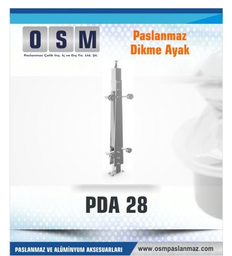 PASLANMAZ DİKME AYAK PDA 028