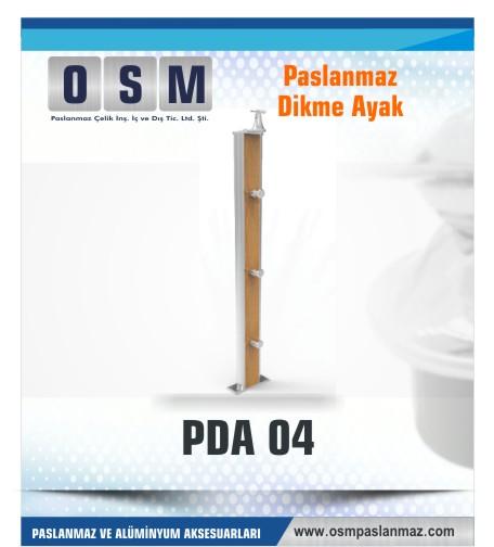 PASLANMAZ DİKME AYAK PDA 04
