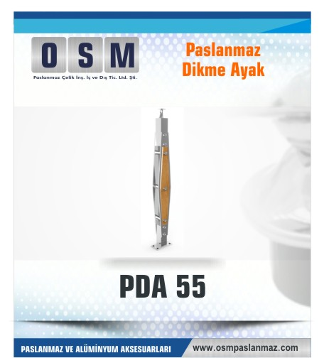 PASLANMAZ DİKME AYAK PDA 055