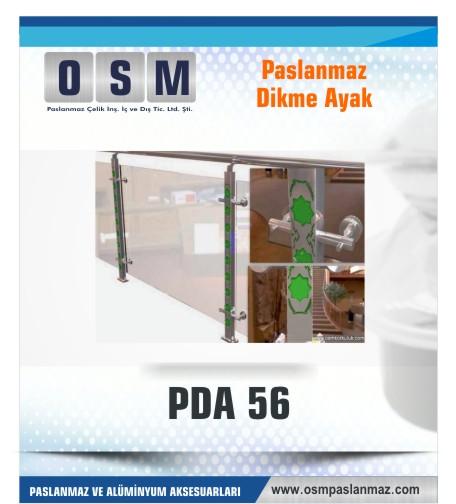 PASLANMAZ DİKME AYAK PDA 056