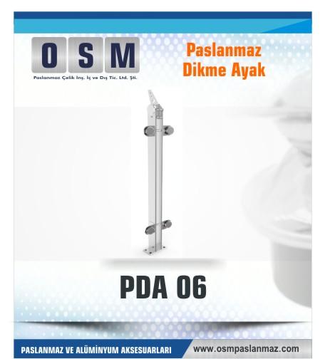 PASLANMAZ DİKME AYAK PDA 06