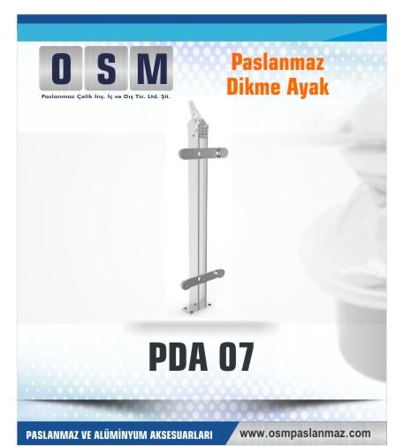 PASLANMAZ DİKME AYAK PDA 07