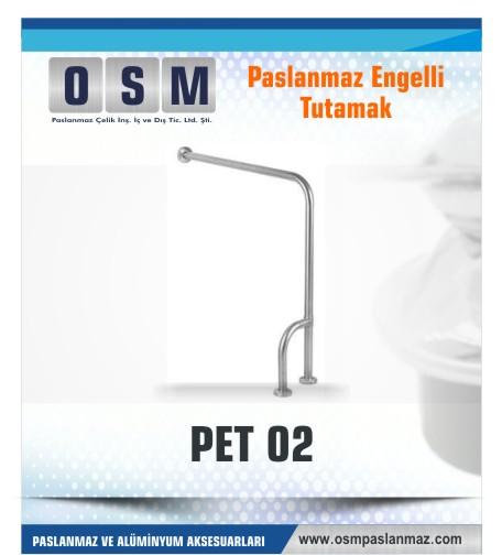PASLANMAZ ENGELLİ TUTAMAK PET 02