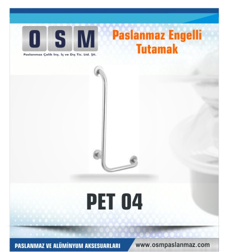 PASLANMAZ ENGELLİ TUTAMAK PET 04