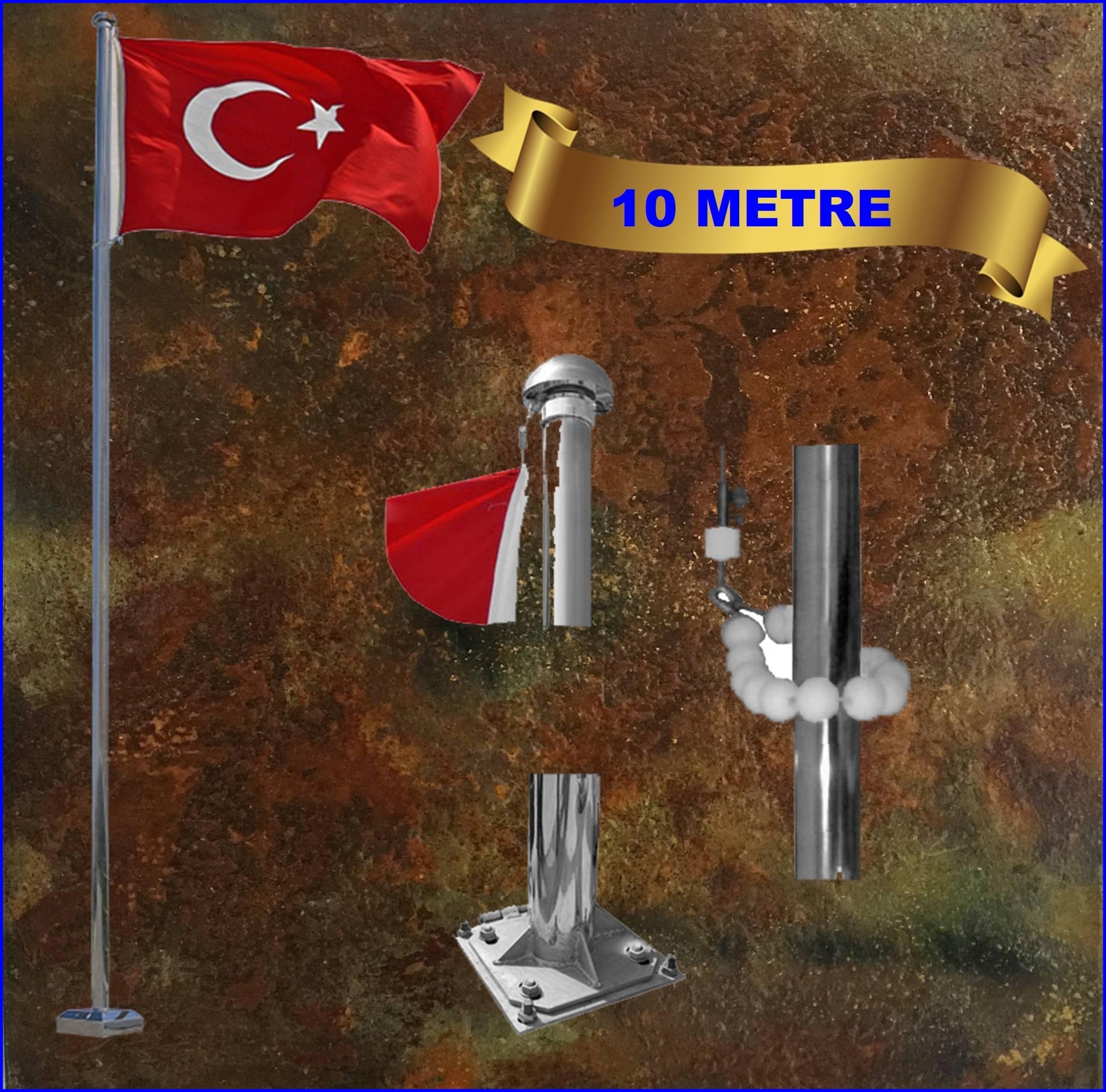 Bayrak direği 10 mt