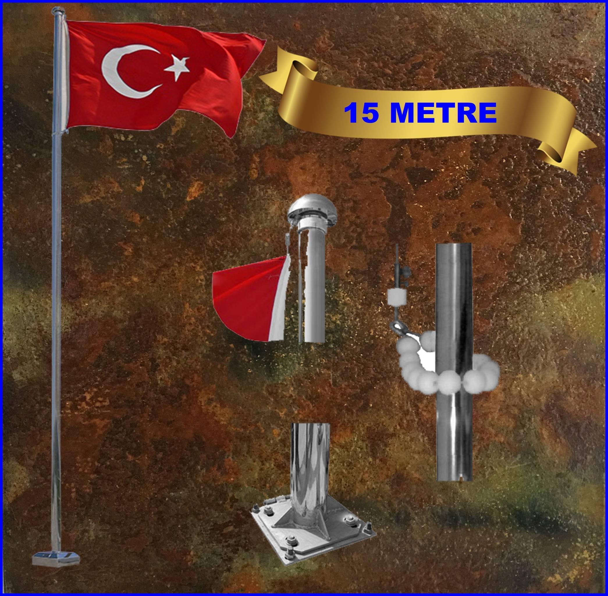 Bayrak direği 15 mt