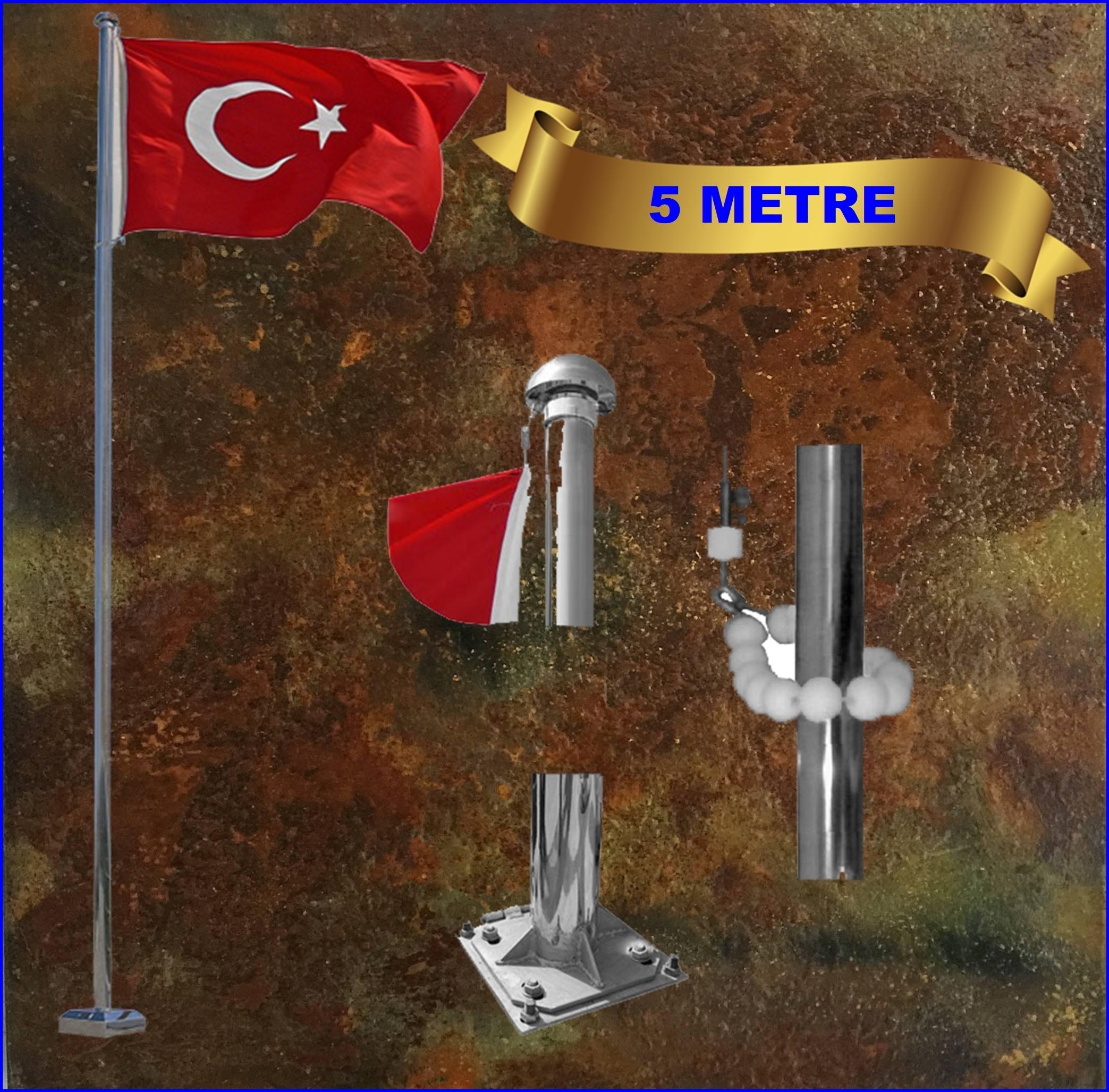 Bayrak direği 5 mt