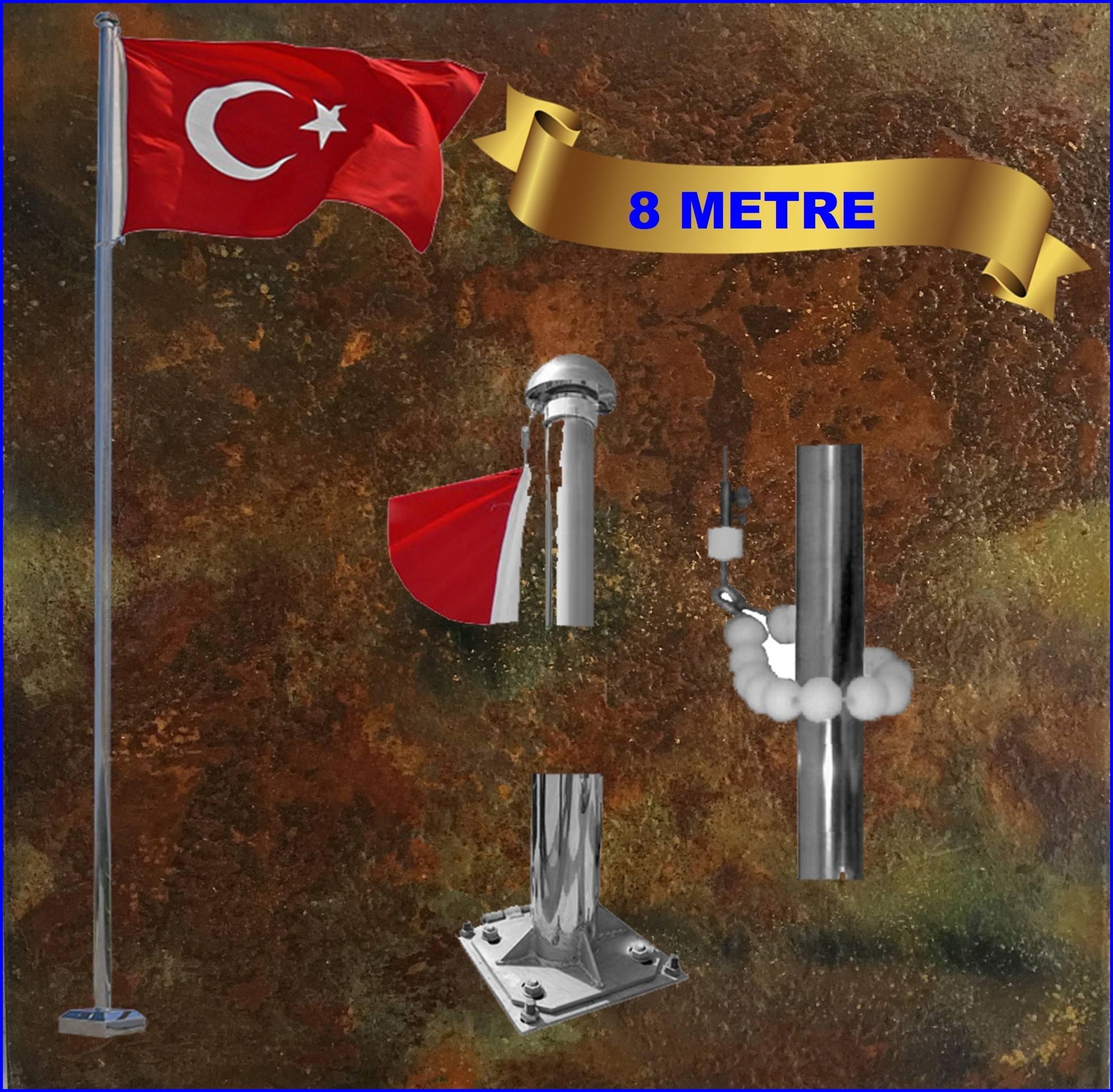 Bayrak direği 8 mt