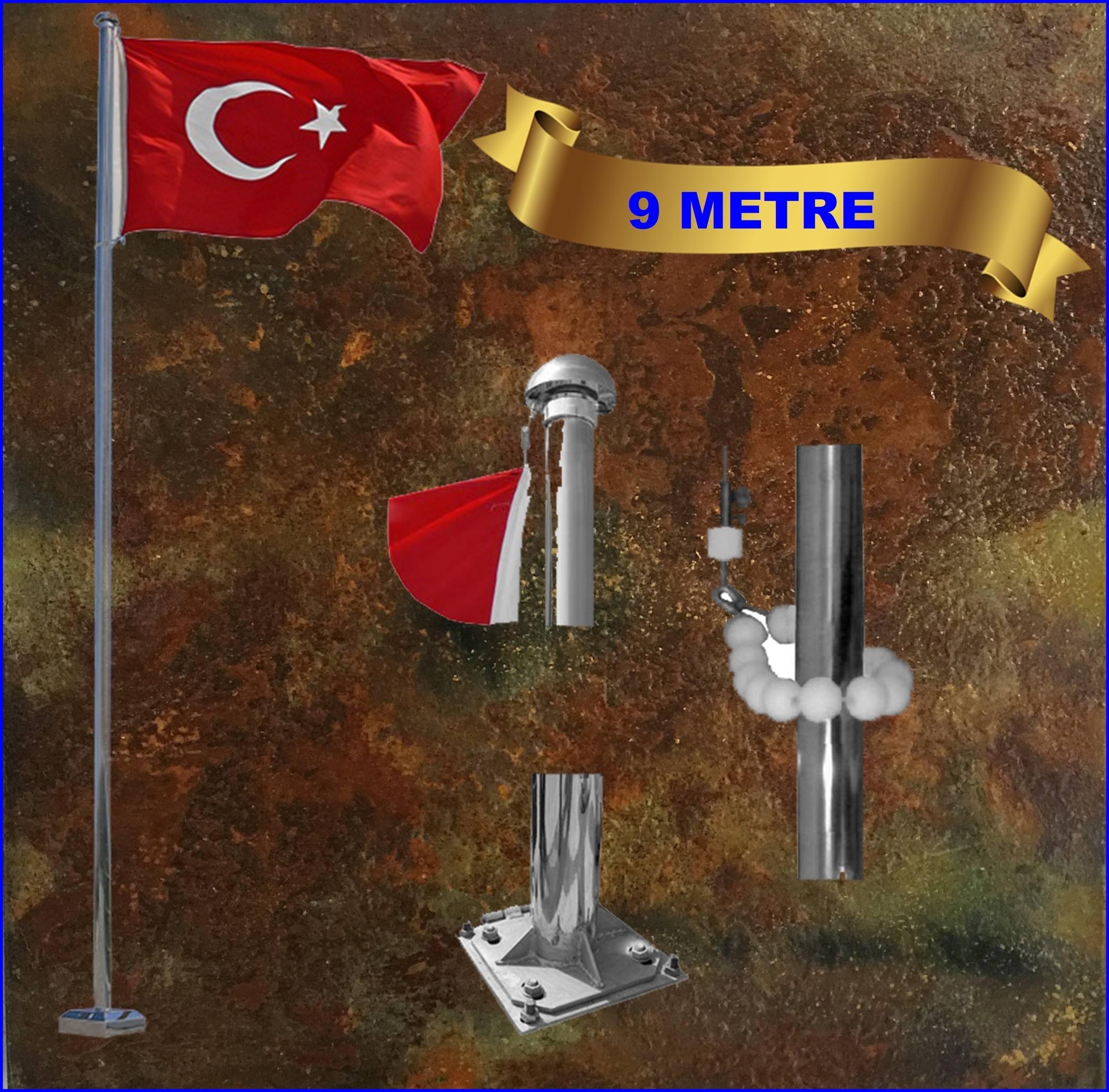 Bayrak direği 9 mt