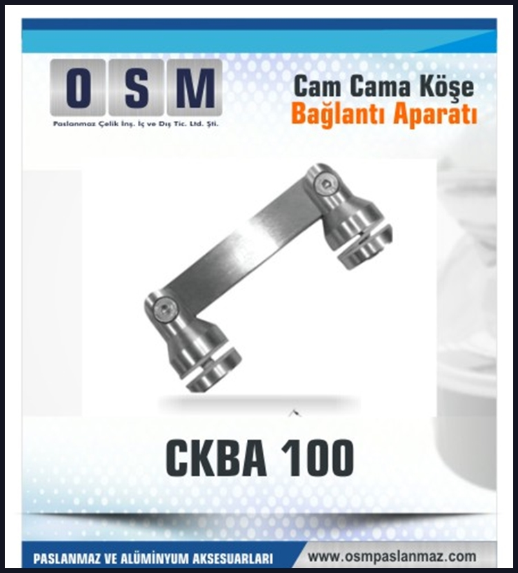 CAM CAMA KÖŞE APARATI CKBA 100