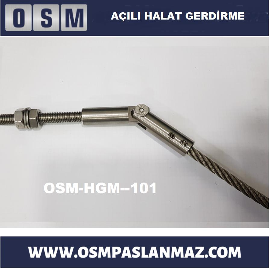 Halat Gerdirme Aparatı Osm-hgm-101
