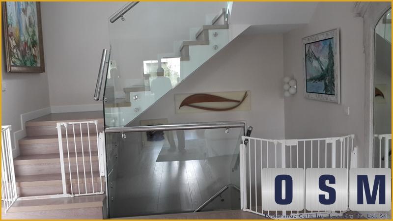 Merdiven Cam Korkuluk 8