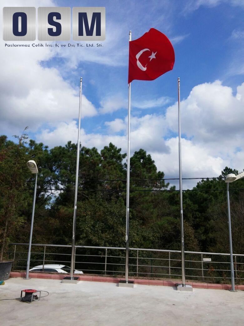 Paslanmaz Bayrak Direği 5