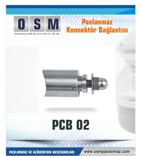 Paslanmaz Konnektör bağlantı PCP-02