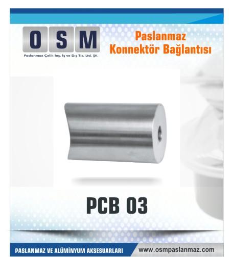 Paslanmaz Konnektör bağlantı PCP-03